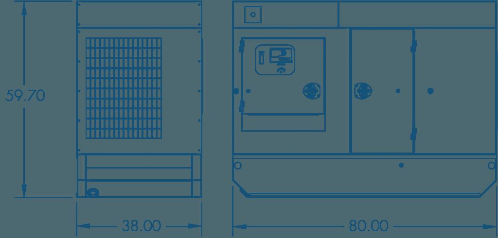 qp 25 generators southwest products