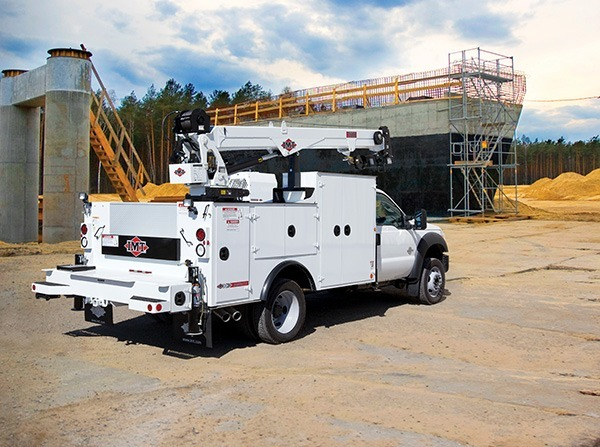 IMT Mechanics Trucks on worksite - Southwest Products