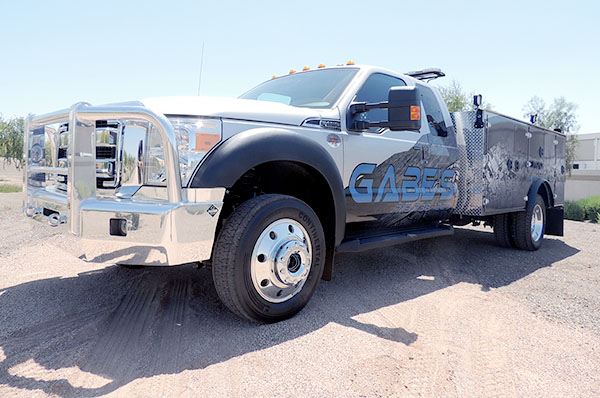 Gabes Custom Work Truck - Southwest Products