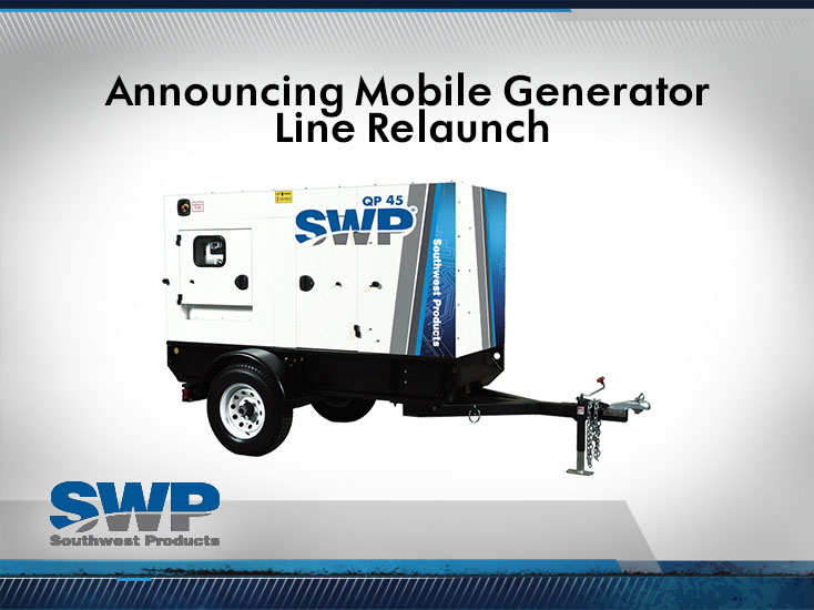 Announcing Mobile Generator - Southwest Products