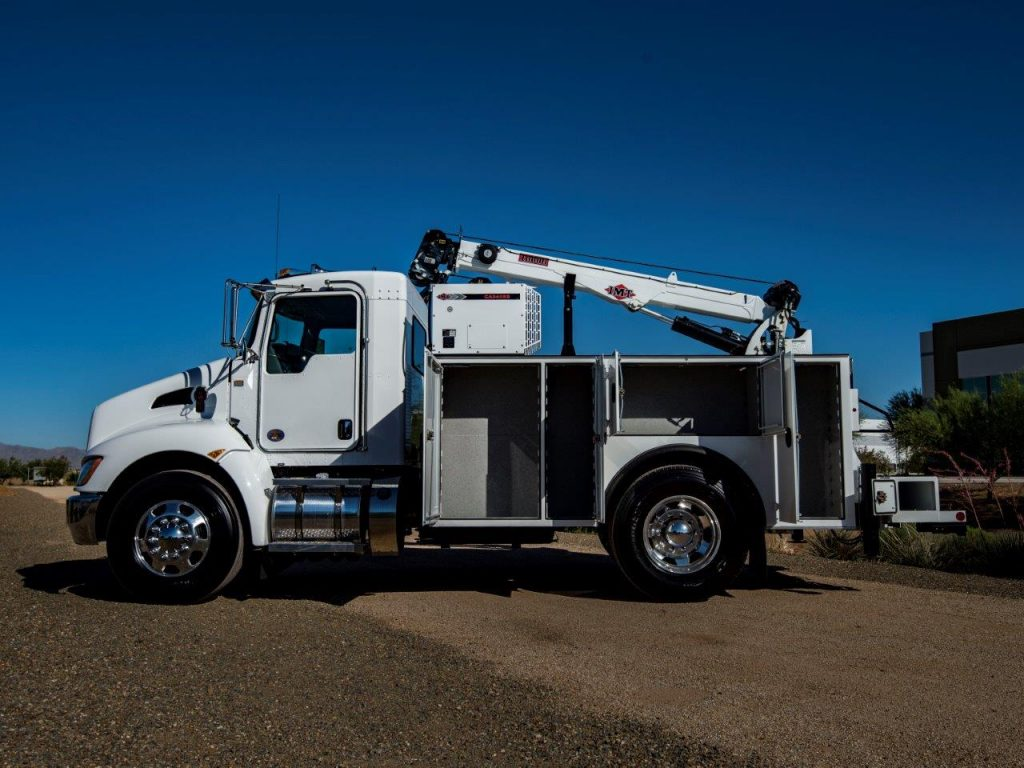 2021 KENWORTH T270 Mechanics Truck