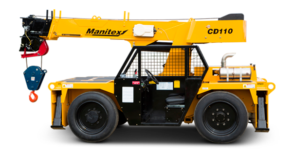 Manitex CD110 Carry Deck Crane Truck