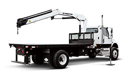 IMT Truck Mounted Articulated Crane