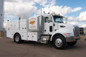 Southwest-Products-Peterbuilt-Commercial-Lube-Truck-1000 Gallon Lube Truck