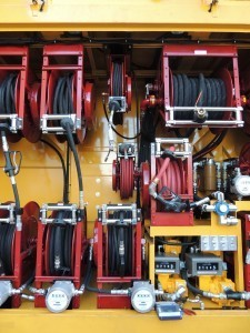 Southwest-Products-Articulating-Lube-Fuel-Truck-Reel-Cabinet